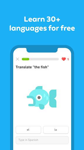 Duolingo : Learn Languages Free