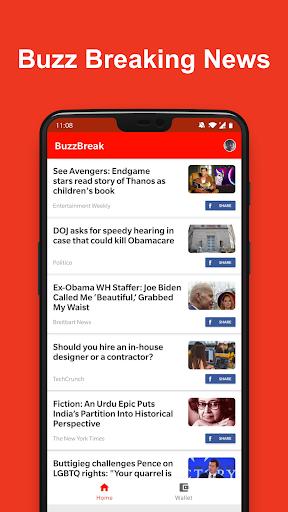BuzzBreak News-버즈 뉴스 무료 현금 적립!