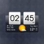 icon Sense Flip Clock & Weather